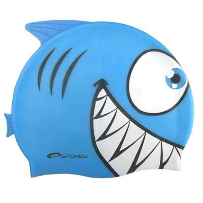 Шапочка для купания детская Spokey Rekinek, синяя