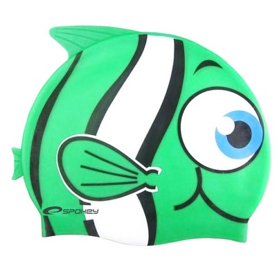 Шапочка для купания детская Spokey Rybka, зеленая