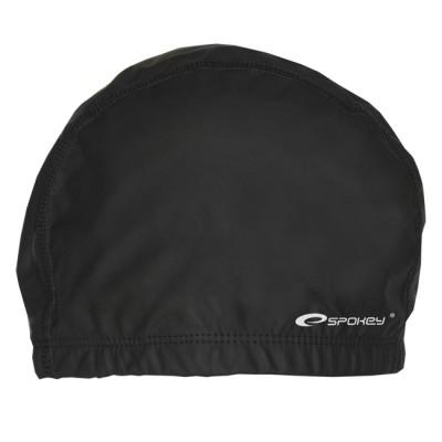 Силиконовая шапочка для плавания Spokey Torpedo, черная