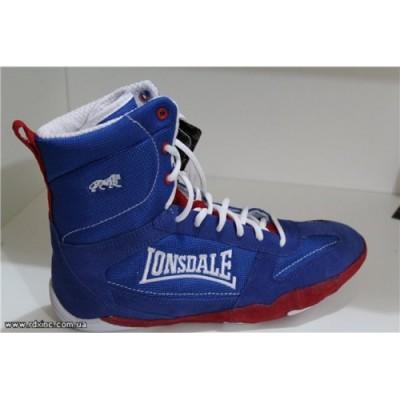 Боксерки LONSDALE twist mid blue