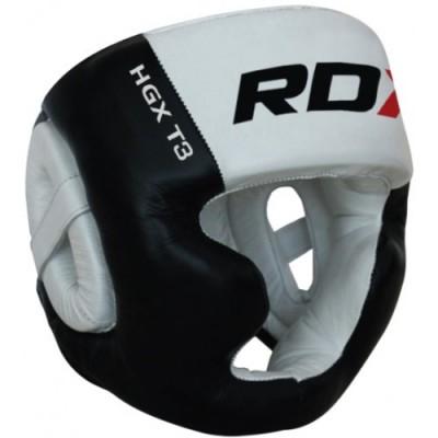 Боксерский шлем с защитой подбородка RDX WB