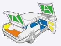 Расчет материала для шумоизоляция автомобиля своими руками.
