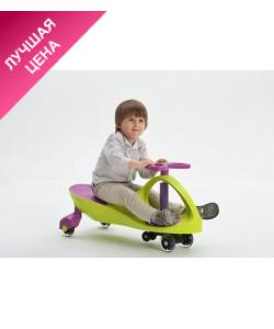 Детская машинка каталка Бибикар (smart car), толокар с полиуретановыми колесами