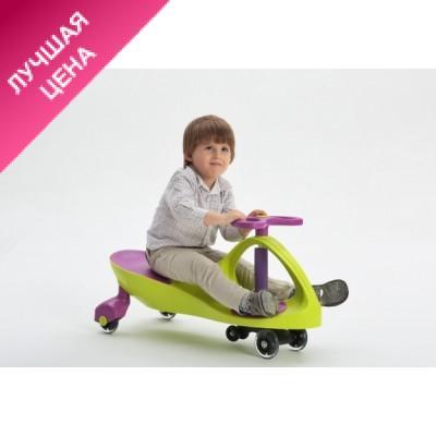 Детская машинка каталка Бибикар (smart car) с полиуретановыми колесами