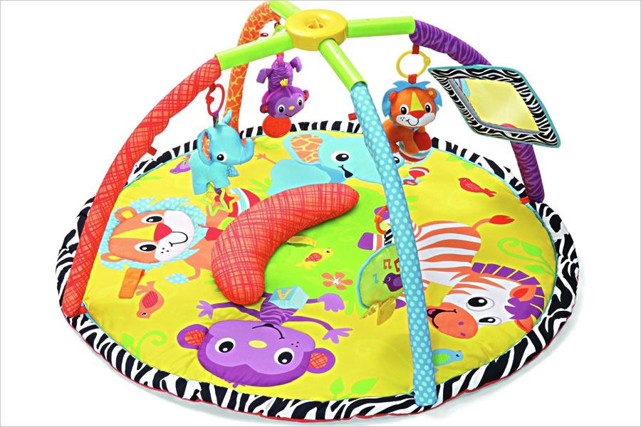 Развивающие коврики для малышей