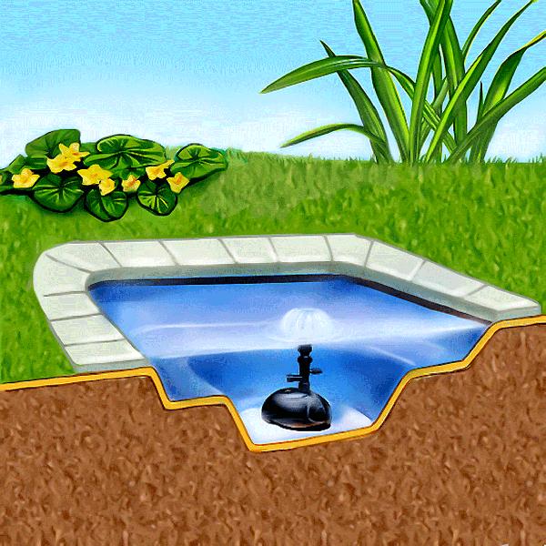 Гидроизоляция водоемов материалом изолон