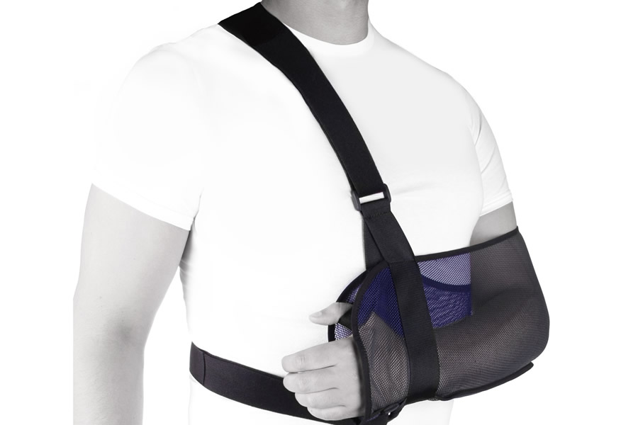 Бандаж на руку при переломе своими руками