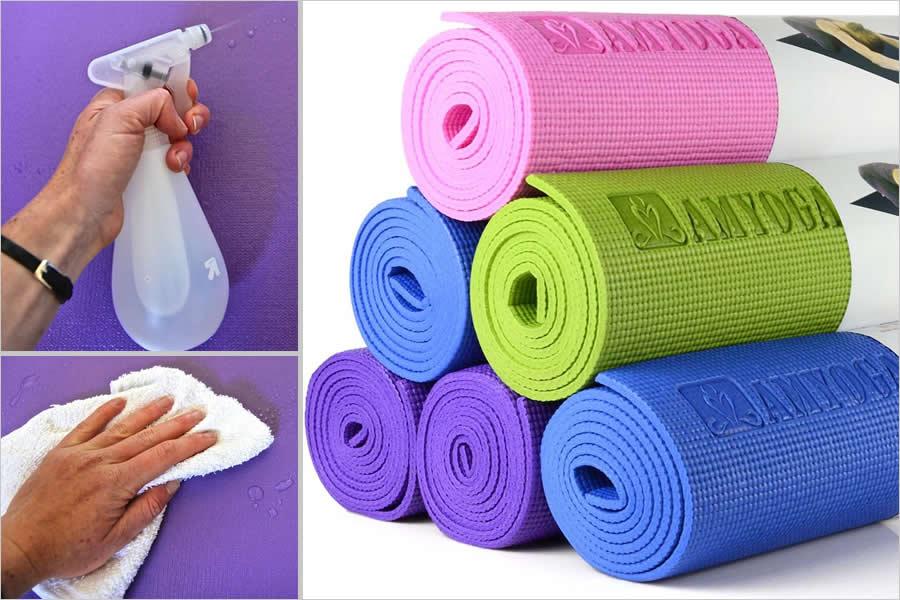 Как мыть коврик для йоги