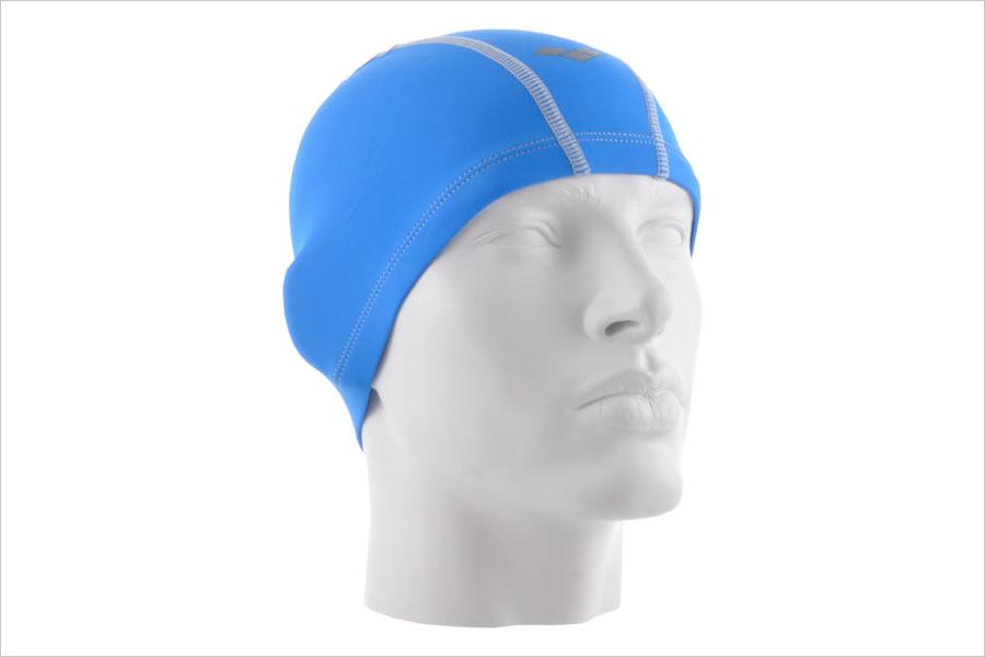Текстильная или тканевая шапка для плавания