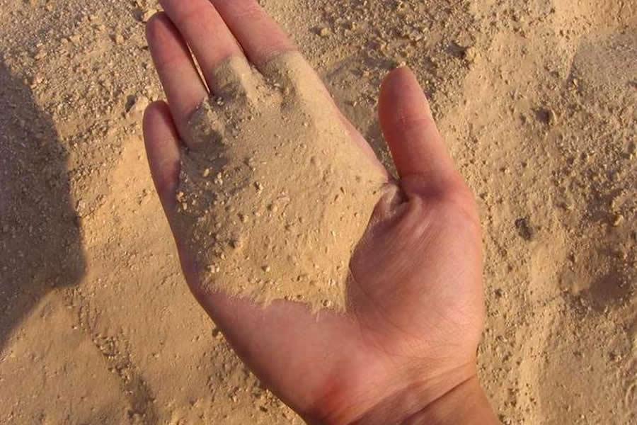 Песок для боксерской груши