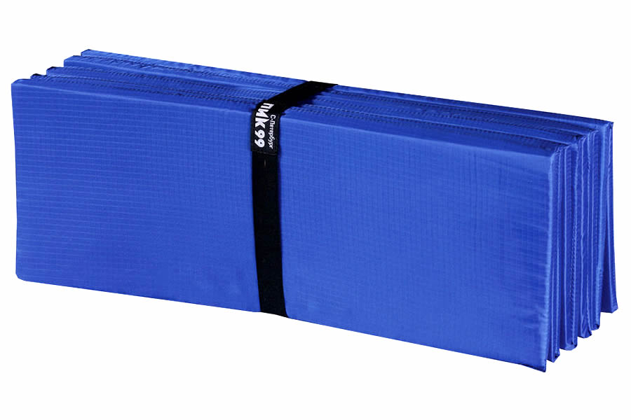 Складной коврик легче транспортировать