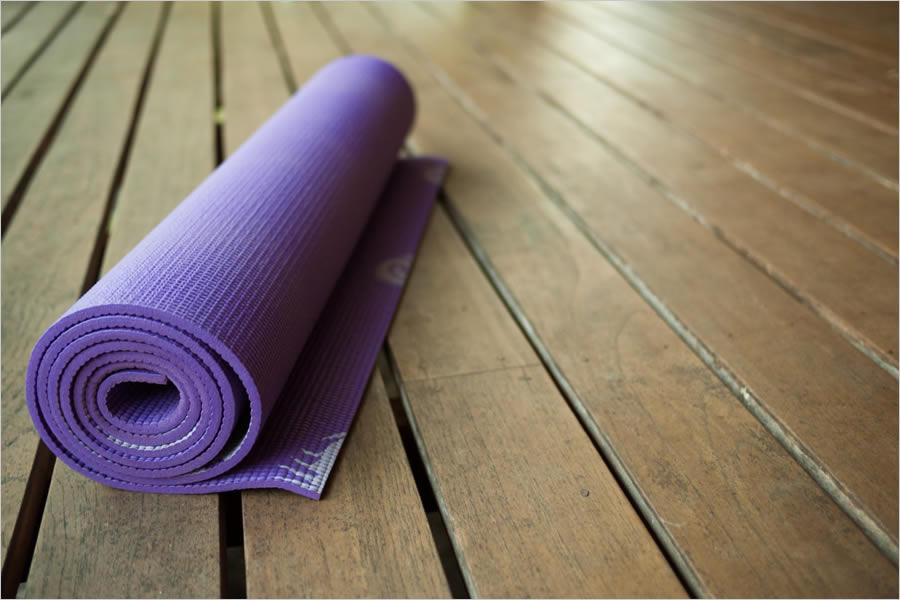 Как хранить йога-мат