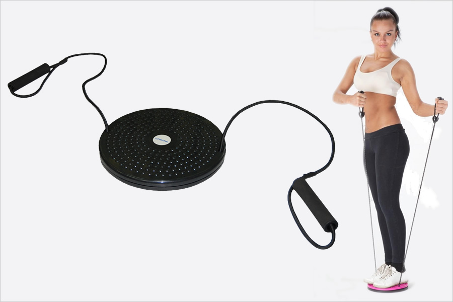 диск для похудения Здоровье с эспандерами