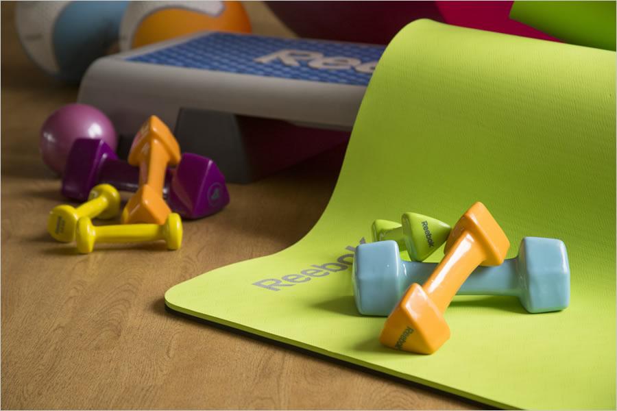 Фитнес инвентарь для домашних тренировок