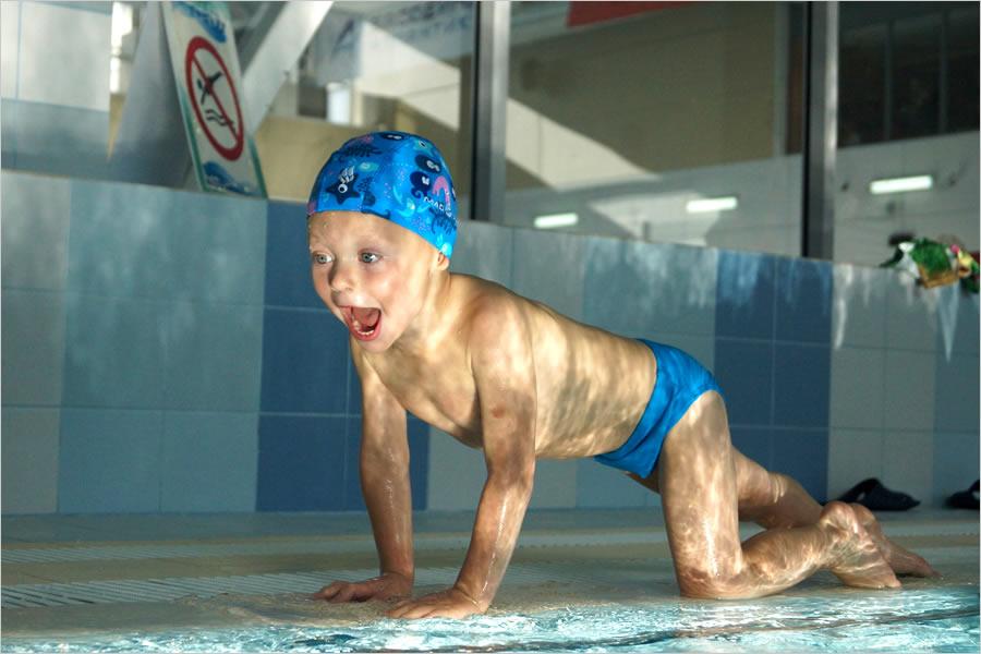 Детская шапочка для бассейна