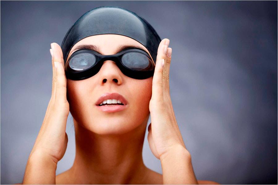 Тренировочные плавательные очки