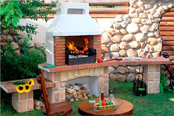 Печка мангалы для беседки на даче