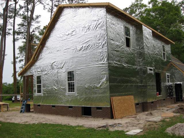 Теплый дом - утепление вспененным полиэтиленом
